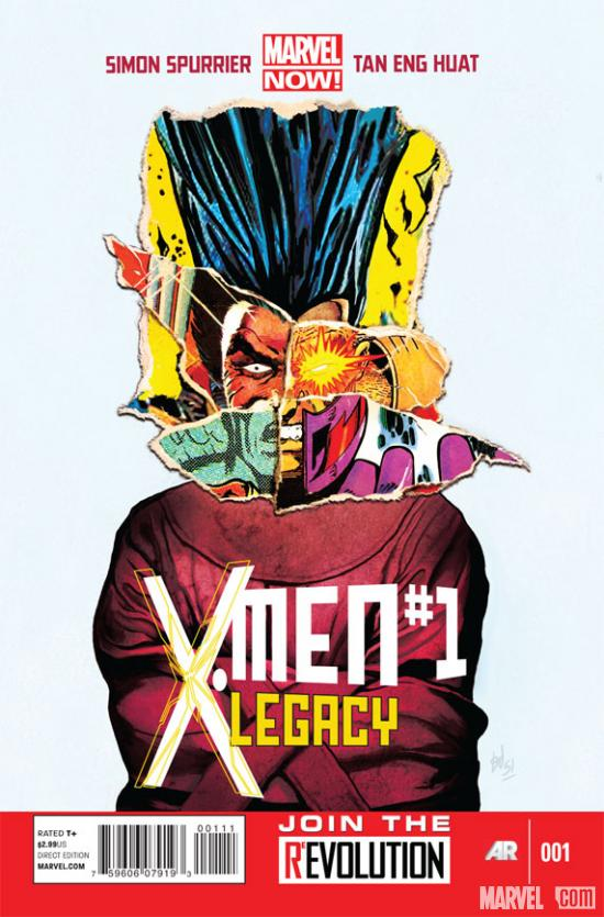 X-Men Legacy #1 cover art by Mike Del Mundo