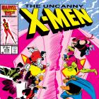 Uncanny X-Men (1963) #208 Cover