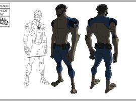 Werewolf by Night concept art from Marvel's Ultimate Spider-Man