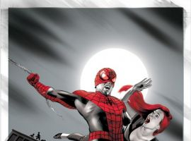 AMAZING SPIDER-MAN #646 VAMPIRE VARIANT cover by Mike Mayhew