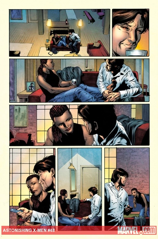 Astonishing X-Men #48 preview art by Mike Perkins