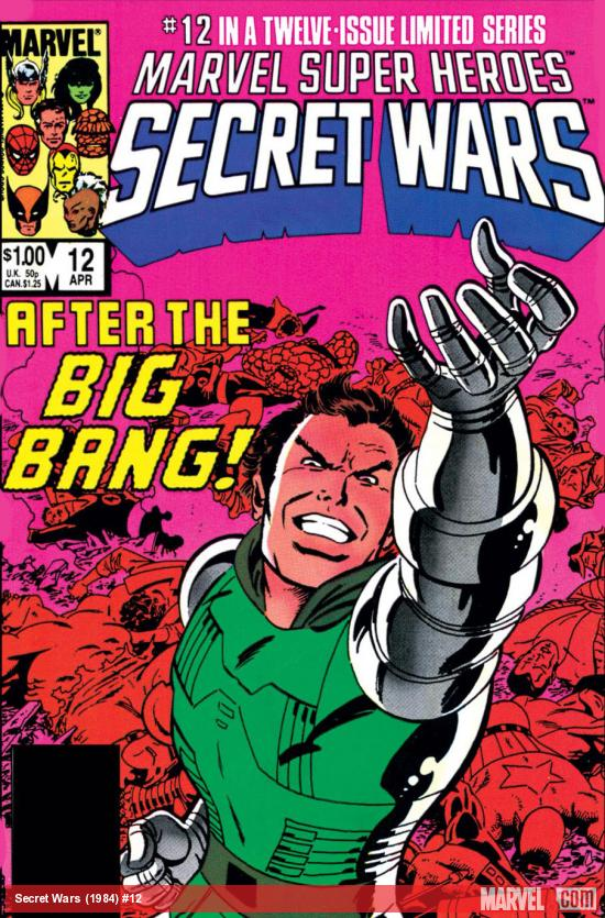 Secret Wars (1984) #12