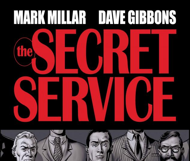 SECRET SERVICE #4 COVER