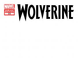 WOLVERINE 310 BLANK COVER VARIANT (WITH DIGITAL CODE, INTERIORS ONLY)