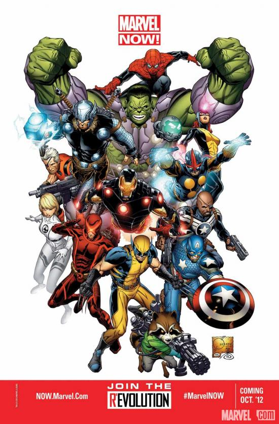 Marvel NOW! by Joe Quesada