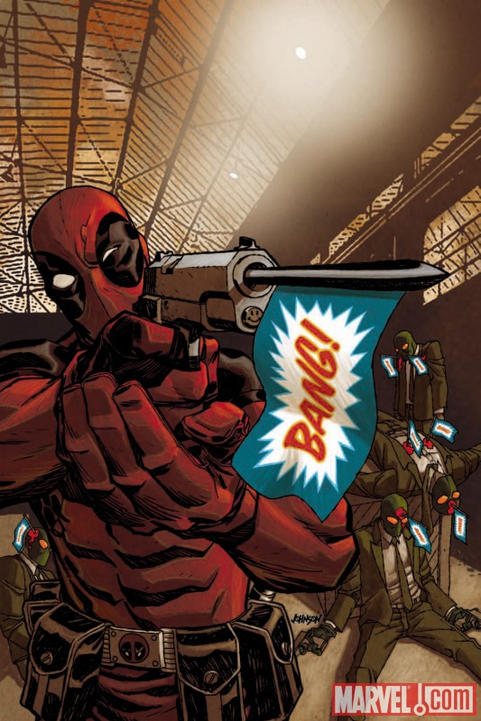 DEADPOOL #26 cover by Dave Johnson