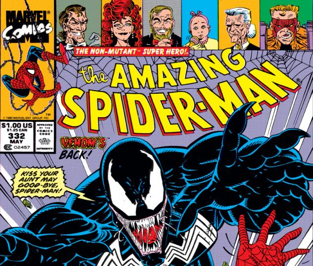 Amazing Spider-Man (1963) #332 Cover