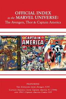 Avengers, Thor & Captain America: Official Index to the Marvel Universe #13