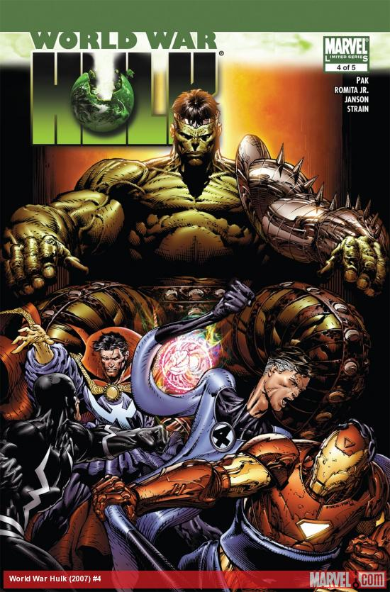 World War Hulk (2007) #4