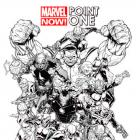 MARVEL NOW! POINT ONE 1 QUESADA SKETCH VARIANT (NOW, WITH DIGITAL CODE)