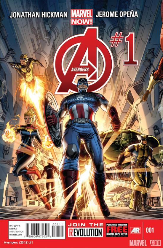 Avengers #1