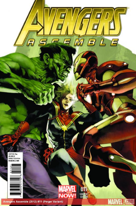 AVENGERS ASSEMBLE 11 PERGER VARIANT