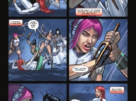 SHADOWLAND: DAUGHTERS OF THE SHADOW #3 preview page by Ivan Rodriguez