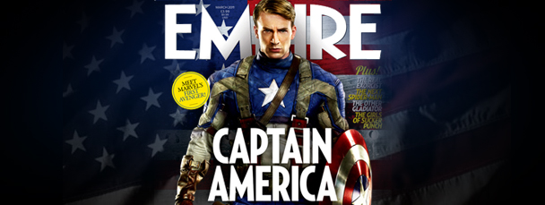 Captain America In Empire Magazine