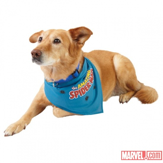 Spider-Man Bandana by Fetch available at PetSmart