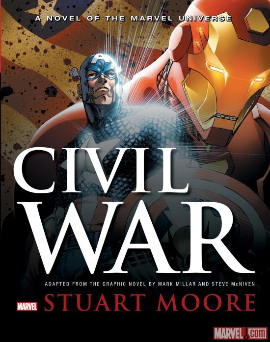 Civil War Prose Novel Cover