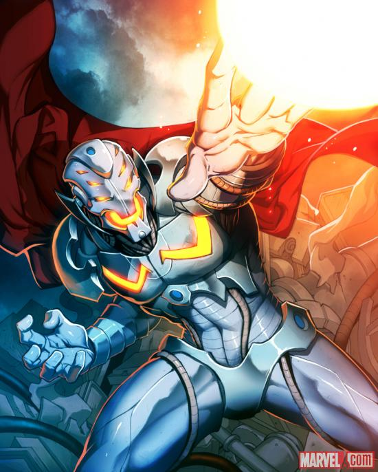 Ultron card art by UDON from Marvel War of Heroes