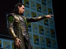 SDCC 2013: Tom Hiddleston as Loki at the Hall H Panel