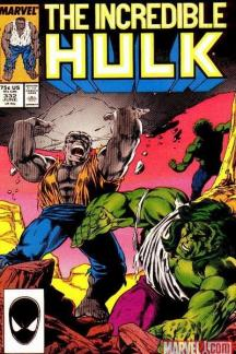 Incredible Hulk #332