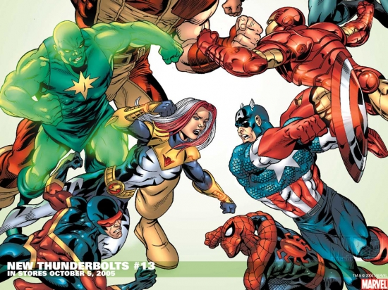 New Thunderbolts (2004) #13 Wallpaper