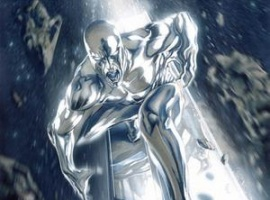 The Silver Surfer by Gabriele Dell'Otto