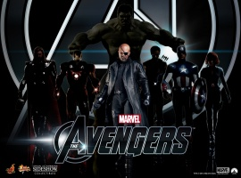 Marvel's The Avengers Figures (by Hot Toys)