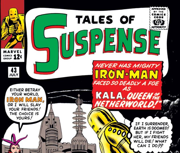 Tales of Suspense (1959) #43 Cover