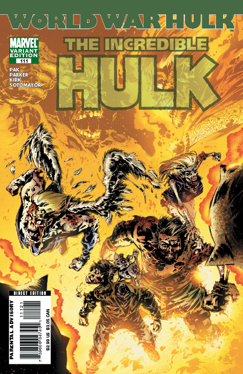 INCREDIBLE HULK #111
