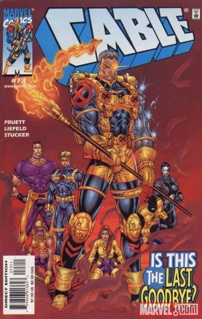 Image Featuring Banshee (Theresa Rourke), Sunspot, Warpath, X-Force, Cable, Cannonball