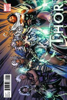The Mighty Thor (2011) #2 (X-Men Art Variant)