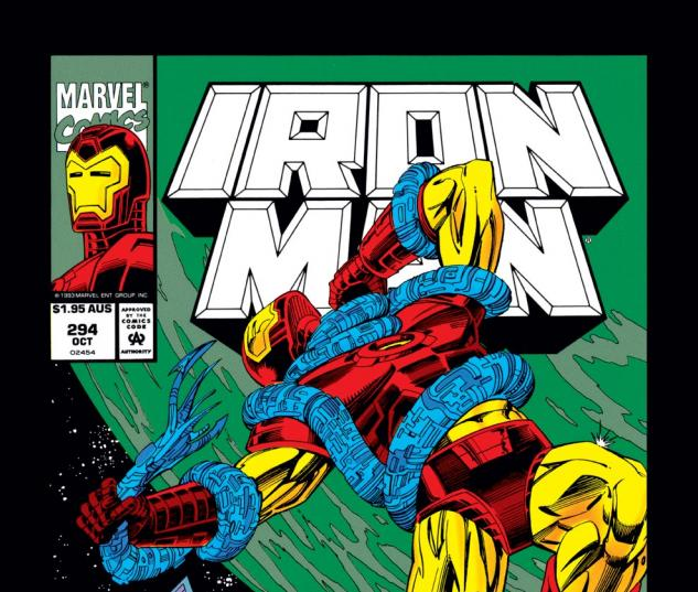 Iron Man (1968) #294 Cover
