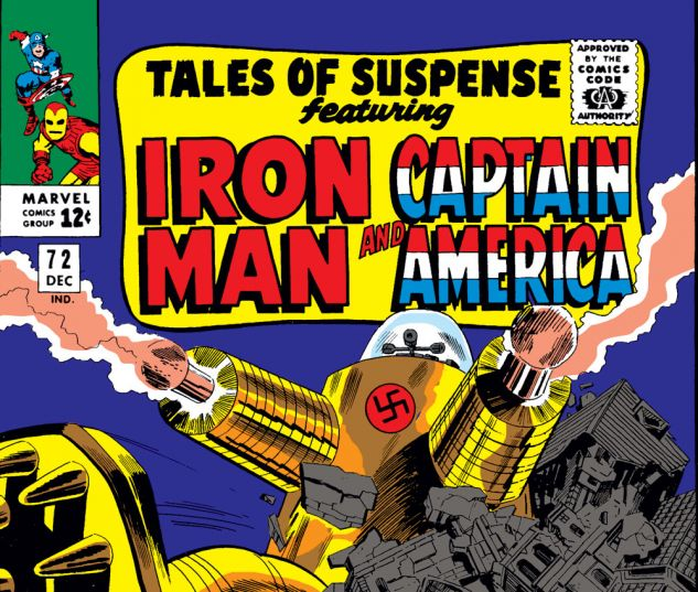 Tales of Suspense (1959) #72 Cover