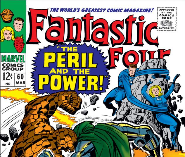 Fantastic Four (1961) #60 Cover