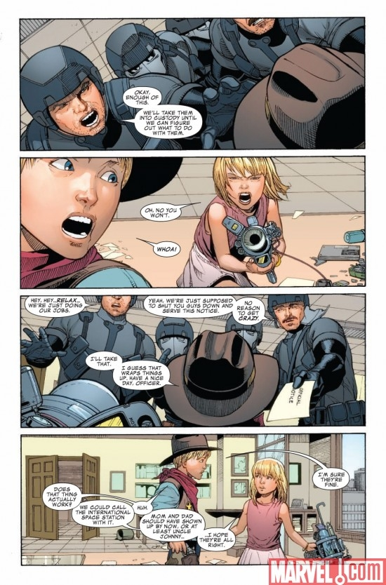 DARK REIGN: FANTASTIC FOUR #2 preview page 4