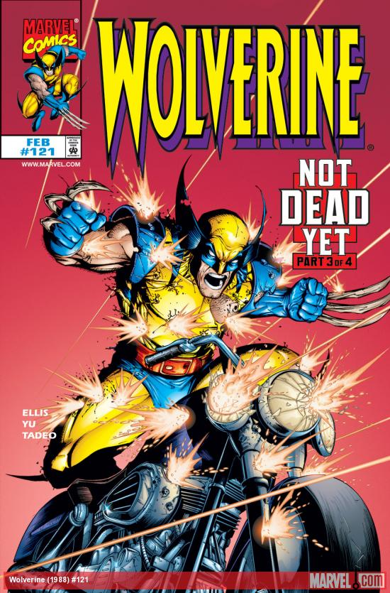 Wolverine (1988) #121