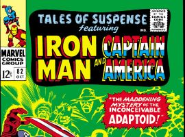 Tales of Suspense (1959) #82 Cover