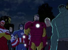Earth's Mightiest Heroes triumphant in Marvel's Avengers Assemble - The Final Showdown