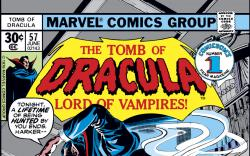 Tomb of Dracula (1972) #57 Cover