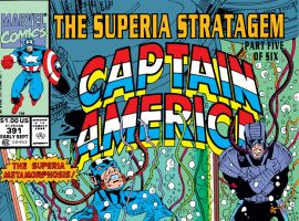 Captain America (1968) #391 Cover