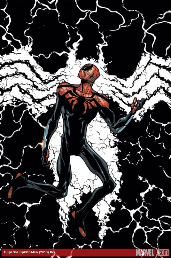 Superior Spider-Man #22 cover by Humberto Ramos