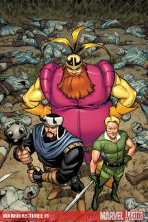 Warriors Three (2010) #1