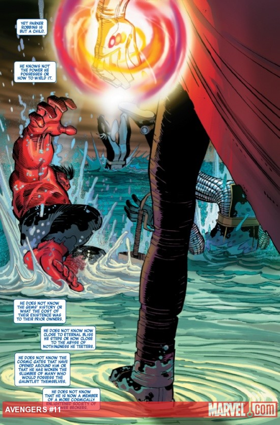 Avengers #11 preview art by John Romita Jr.