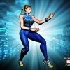 Alternate Chun-Li skin from the Femme Fatale DLC pack for Ultimate Marvel vs. Capcom 3