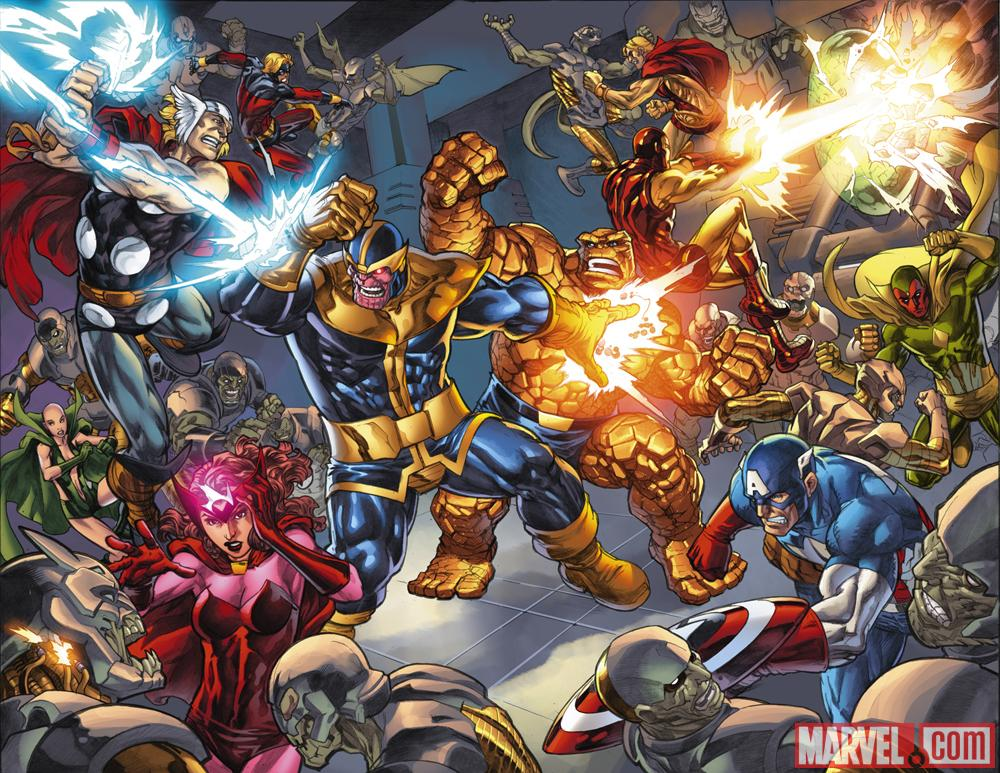 Avengers: Threat Assessment preview art by Michael Ryan