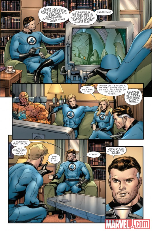 FANTASTIC FOUR #577 Art by Dale Eaglesham