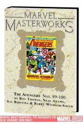 Marvel Masterworks: The Avengers Vol. 10 (Direct Market Only Variant) (Hardcover)