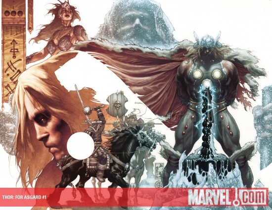 Thor: For Asgard (2010) #1