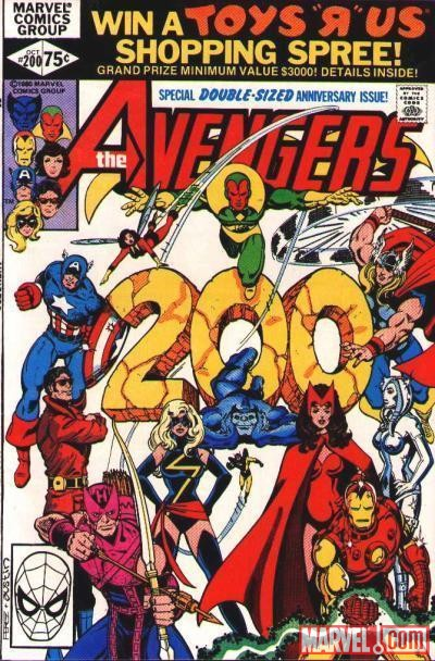 Image Featuring Wasp, Wonder Man, Avengers, Captain Marvel (Carol Danvers), Beast, Hank Pym, Captain America, Hawkeye, Iron Man, Jocasta, Scarlet Witch, Thor