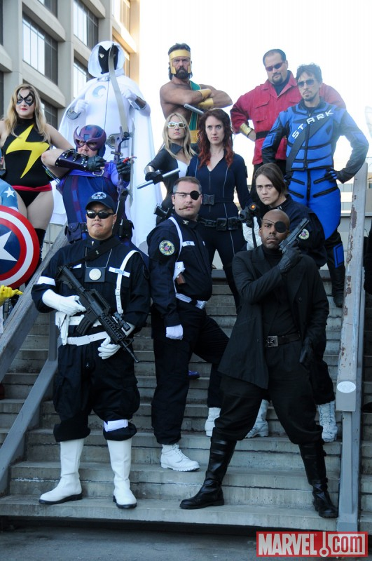 Dragon*Con 2010: Marvel Universe Photo Shoot, Avengers