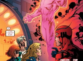 AVENGERS ACADEMY #11 preview art by Tom Raney